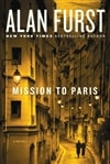 Furst, Alan - Mission to Paris (Signed First Edition)