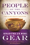 Gear, W. Michael & Gear, Kathleen | People of the Canyons | Double-Signed 1st Edition