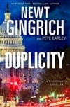 Duplicity | Gingrich, Newt & Earley, Pete | Double Signed First Edition Book
