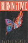 Burning Time | Glass, Leslie | Signed First Edition Book