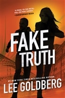 Goldberg, Lee | Fake Truth | Signed First Edition Book