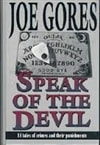 Speak of the Devil | Gores, Joe | Signed First Edition Book