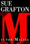 M is for Malice | Grafton, Sue | Signed First Edition Book