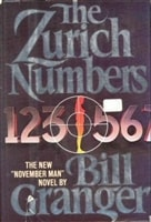 Zurich Numbers, The | Granger, Bill | Signed First Edition Book