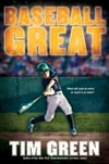 Green, Tim | Baseball Great | First Edition Book