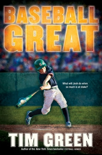 Baseball Great By Tim Green First Edition Book border=