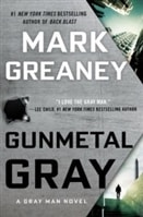 Gunmetal Gray by Mark Greaney | Signed First Edition Book