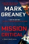 Mission Critical by Mark Greaney | Signed First Edition Book