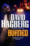 Burned | Hagberg, David | Signed First Edition Book