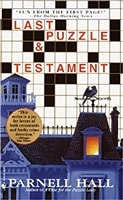 Last Puzzle & Testament | Hall, Parnell | Signed First Edition Book
