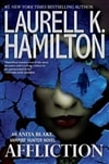 Hamilton, Laurell K. - Affliction (Signed, 1st)