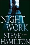 Hamilton, Steve - Night Work (Signed First Edition)