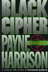 Black Cipher | Harrison, Payne | Signed First Edition Book