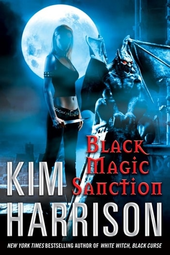 Black Magic Sanction By Kim Harrison Signed First Edition Book