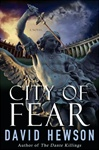 City of Fear | Hewson, David | Signed First Edition Book