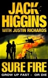Higgins, Jack | Sure Fire | First Edition UK Book