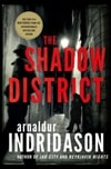 Shadow District | Indridason, Arnaldur | Signed First Edition Book