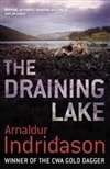 Draining Lake, The | Indridason, Arnaldur | Signed 1st Edition UK Trade Paper Book