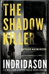 Shadow Killer by Arnaldur Indridason | Signed First Edition UK Book
