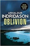 Oblivion by Arnaldur Indridason | Signed First Edition UK Book