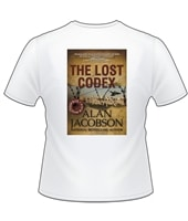 Jacobson, Alan | Lost Codex T-Shirt | Large & XL