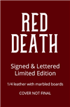 Red Death | Jacobson, Alan | Signed & Lettered Limited Edition Book