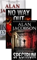 Karen Vail Trilogy Vol. 2 w/ Slipcase: Inmate 1577, No Way Out, Spectrum | Jacobson, Alan | Signed Limited Edition Book