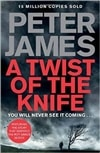 Twist of the Knife, A | James, Peter | Signed First Edition UK Book