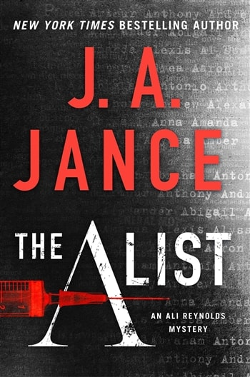 The A List by J.A. Jance