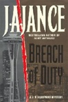 Jance, J.A. - Breach of Duty (Signed First Edition)