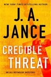 Jance, J.A. | Credible Threat | Signed First Edition Copy