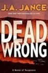 Jance, J.A. - Dead Wrong (Signed First Edition)
