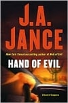 Jance, J.A. - Hand of Evil (Signed First Edition)