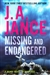 Jance, J.A. | Missing and Endangered | Signed First Edition Book