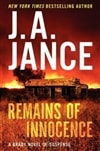 Jance, J.A. - Remains of Innocence (Signed First Edition)