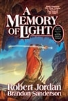 Jordan, Robert & Sanderson, Brandon - Memory of Light, A (Signed First Edition)
