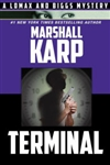 Karp, Marshall | Terminal | Signed First Edition Trade Paper Book