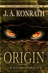 Konrath, J.A. | Origin  | Signed First Edition Trade Paper Book
