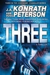 Three | Konrath, J.A. | Signed First Edition Trade Paper Book