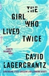 Lagercrantz, David | Girl Who Lived Twice, The | Signed First Edition Copy