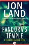 Pandora's Temple | Land, Jon | Signed First Edition Book
