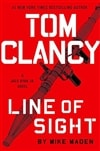 Maden, Mike | Tom Clancy Line of Sight | Signed First Edition Book