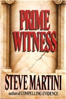 Prime Witness | Martini, Steve | Signed First Edition Book