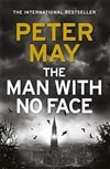 The Man With No Face | May, Peter | Signed First Edition Book