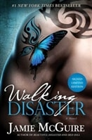 McGuire, Jamie - Walking Disaster (Signed First Edition)