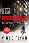 Red War by Kyle Mills (as Vince Flynn) | Signed UK First Edition Copy