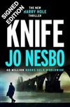 Knife | Nesbo, Jo | Signed First Edition UK Book