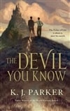 Parker, K.J. | Devil You Know, The | First Edition Trade Paper Book