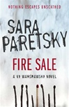 Fire Sale | Paretsky, Sara | Signed First Edition UK Book