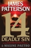 14th Deadly Sin by James Patterson & Maxine Paetro | Double-Signed First Edition Book